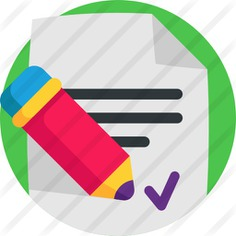 See more icon inspiration related to files and folders, business and finance, signing, contract, pencil, writing, document, paper, business and pen on Flaticon.