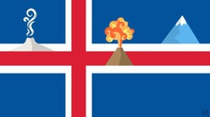 Iceland flag and what it is known for by Frederatic