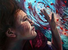 Underwater Paintings by Erika Craig #craig #underwater #erika #paintings