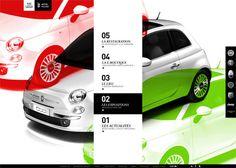Julien Bailly /// Fiat Motor Village #layout