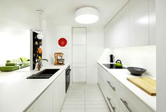 Apartment in Boston by Over,Under - #decor, #interior, #homedecor, #kitchen