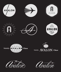 logo #vintage #logo #airline #travel