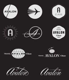 logo #vintage #logo #airline #travel