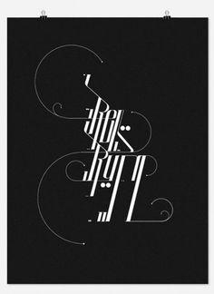 David Mascha TypeTreatments 2011 #typography