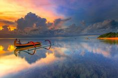Beautiful Sea Landscape by Bertoni Siswanto