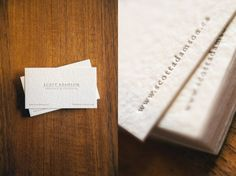 texture, printing technique, letterpress // scottadamson_cards #letterpress