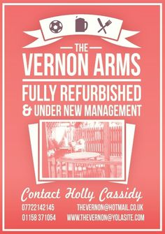 The Vernon Arms on the Behance Network