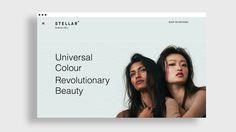Typography, web design, Stellar, Bruce Mau Design, white, black