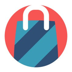 See more icon inspiration related to commerce and shopping, shopping bag, shopper, supermarket, commerce, shopping, bag and business on Flaticon.