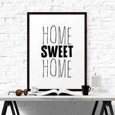 Home Sweet Home. #iloveprintable