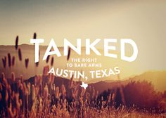 CLIENT:Â tanked PROJECT:Â Apparel design #top #tank #texas #austin #type #typography