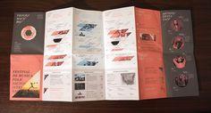 CALMA - Festival de Musica Folk on the Behance Network #layout #flyer #poster