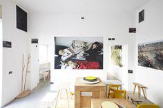 Exhibition of Teruhiro Yanagihara onthisispaper. #interior design #kitchen
