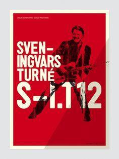 HFDP Sven Ingvars #music #poster