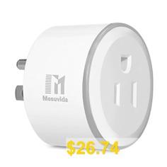 Mesuvida #XS #- #SSA06 #2PCS #Smart #Sockets #with #Timer #Function #- #WHITE