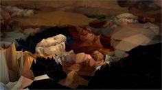 Strata #3 - Bordeaux [Processing] - Digital aesthetics of classical art and architecture /by @Quayola