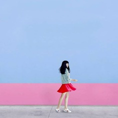 Surreal Minimalism: Candy Colored Instagrams by Marcilea Adinda