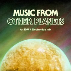 Music From Other Planets #album #retro #space #cover #artwork #art #mix
