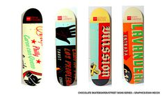 Evan Hecox Chocolate Skateboards Signs #illustration #skate