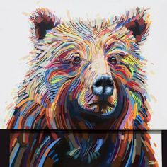 Bear by Justin Kane Elder #inspiration #bear #illustration #art