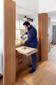 A Compact Multifunctional Flat in Moscow by Studio Bazi 9