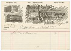 Collection of Receipts — The New Graphic #lettering #vintage