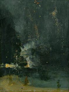 Nocturne in Black and Gold – The Falling Rocket Wikipedia, the free encyclopedia #artwork #paint