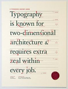 A Typographic Anatomy Lesson #type