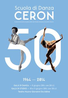 Ceron Dance School - Posters Design on Behance