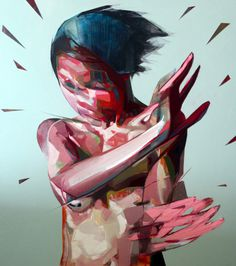 Simon Birch | PICDIT #abstract #design #painting #art #colour