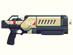 Gun #gun #illustration