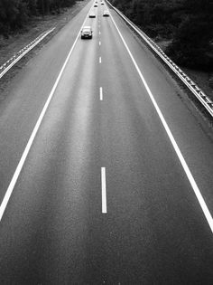 Untitled | Flickr - Photo Sharing! #stripes #bw #road