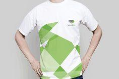 Woodou | Dynamic identity on Behance #t #geometric #shirt #corporate #brand #logo