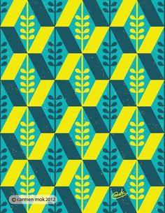 Geometric Pattern Illustration ... | Geometric