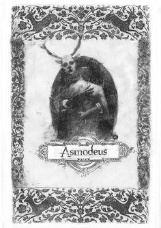 Bestiario Ilustrado - Asmodeus - numanhoid #transfer #asmodeus #bipolartseis #numanhoid