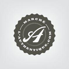 Marché l'Authentique - identité #logo