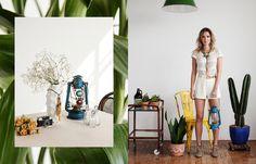Bruno Tatsumi / Fashion Editorials #accessories #bruno #tatsumi #design #wood #nature #fashion #editorial #green