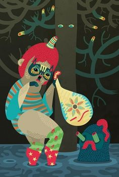 joulu irena zablotska #illustration #art