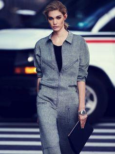 Irina Nikolaeva & Katya Riabinkina by Ben Weller for W Magazine #fashion #model #photography #girl