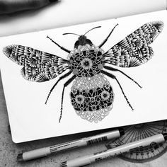 Black and White Detailed Drawing Art by Pavneet Sembhi  #drawing #pecil art #artwork #illustration