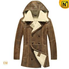 Shearling Sheepskin Coat CW878159 #sheepskin #coat