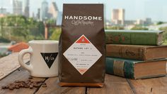 Handsome_Coffee_up_book #packaging #coffee