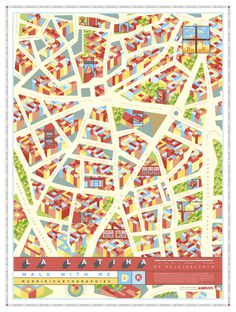 tumblr_n3z86fdqo21qahq88o6_1280.jpg (1200×1591) #madrid #map
