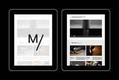 Markus Form by Lundgren+Lindqvist #web design #website #ipad