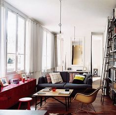 FFFFOUND! #interior #furniture #light #room #eames