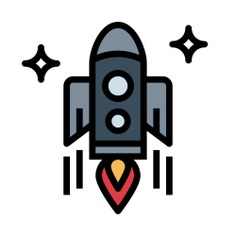 See more icon inspiration related to startup, rocket launch, rocket ship, space ship, transportation, rocket and transport on Flaticon.