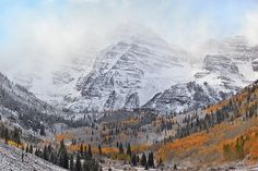 Autumn in Colorado on the Behance Network #colorado #photography #autumn #mountains