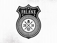 Dribbble - Falanx Soccer Badge (v2) by Made By Thomas #badge