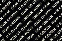 Crown by Christy's by Studio Moross #pattern #logotype
