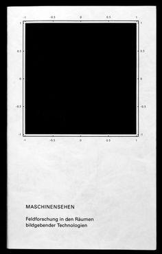 MASCHINENSEHEN. Feldforschung in den Räumen bildgebender Technologien #grid #poster